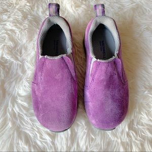 Merrell kids shoes purple grey comfortable size 1